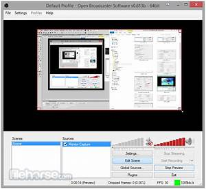 Open Broadcaster Software 0659 Beta Download For Windows