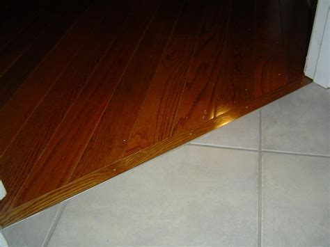 Hardwood To Tile Transition   Flooring   DIY Chatroom Home