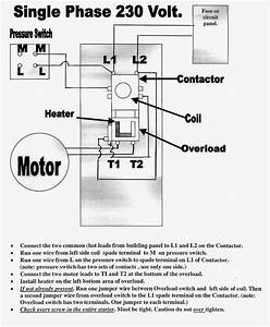 Great Single Phase Starter Wiring Diagram A Big Compressor