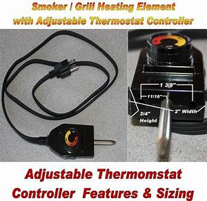 Universal Replacement Electric Smoker And Grill Heating