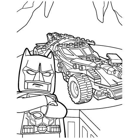 Batman 3 Kleurplaat by Leuk Voor Batman And His Batmobile