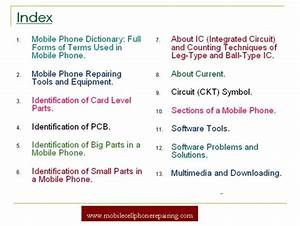 Mobile Phone Repairing Pdf Book Free Tutorial  U0026 Guide