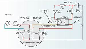 Wiring Diagram For Immersion Heater