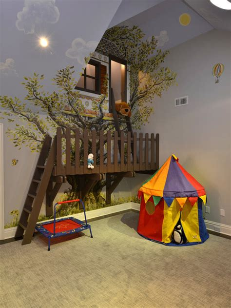 indoor treehouse ideas pictures remodel  decor