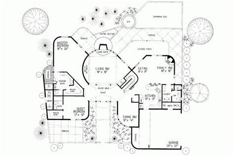 adobe homes plans eplans adobe house plan two story santa fe 2797 square feet adobe house plans two story adobe