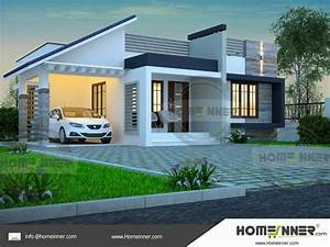 Single Story Simple House Elevation In 2019