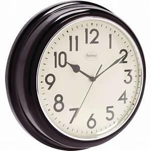 Retro Uhren Wand : retro wanduhr 32cm bahnhofsuhr balance retrostore24 ~ Whattoseeinmadrid.com Haus und Dekorationen