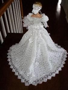 Free Crochet Baby Dress Patterns Christening Gown