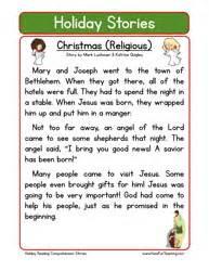 reading comprehension christmas worksheet festival