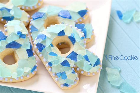 sea glass candy cookies  fine cookie