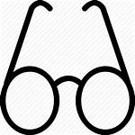 Glasses Drawing Icon Spectacles Specs Bifocals Eyeglasses