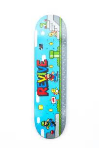 Revive Skateboard Deck 80 by Revive Decks Braille Skateboarding