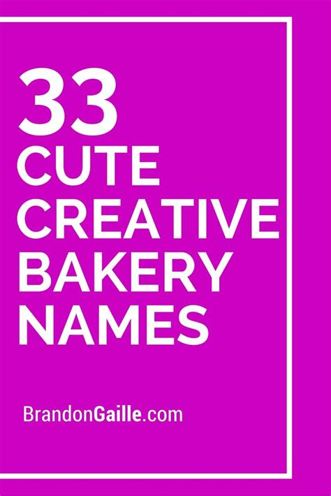 best 25 bakery names ideas on bakery