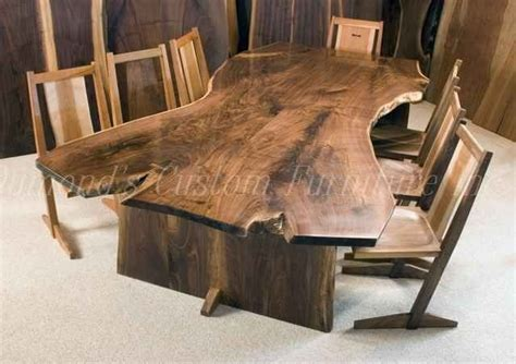 handmade kitchen furniture crafted the welch 9 39 book matched walnut crotch slab