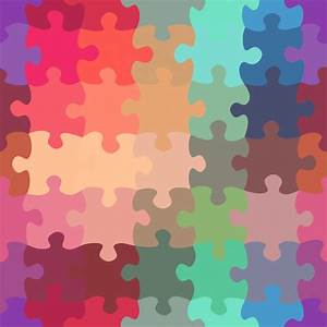 699 - Puzzle-Pastel - Pattern by Patrick Hoesly, via ...