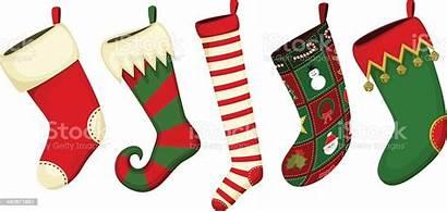 Stocking Stockings Clip Clipart Holiday Navidad Celebration