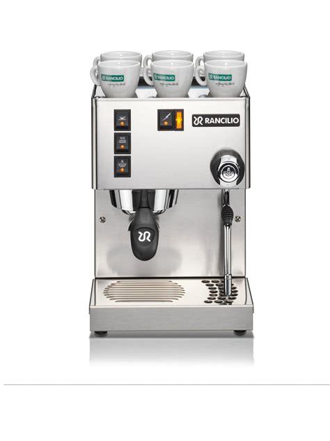 rancilio home espresso machine prima coffee
