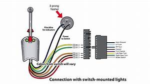 Universal Bolt On Turn Signal Switch Wiring
