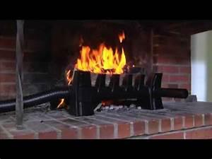 Recuperateur Chaleur Cheminée : r cup rateur de chaleur pour chemin e ouverte youtube ~ Premium-room.com Idées de Décoration