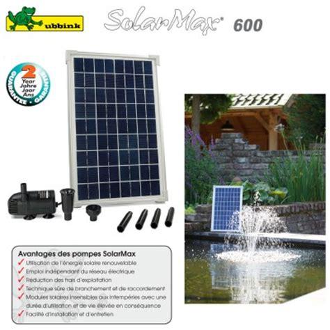 pompe solaire pour bassin exterieur acheter votre pompe de bassin de jardin 224 prix discount clic discount