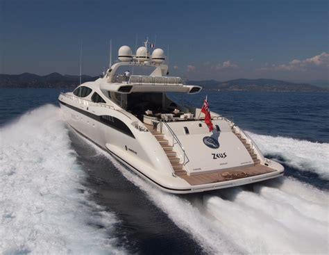 Yacht Zeus by Zeus Yacht Charter Details Mangusta 165 Superyacht