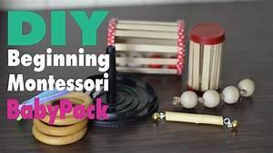 Montessori Spielzeug Baby : diy montessori spielzeug baby pack 5 toys mamiblock learn play youtube ~ Orissabook.com Haus und Dekorationen