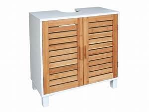 meuble sous lavabo bois With meuble sous lavabo en bois