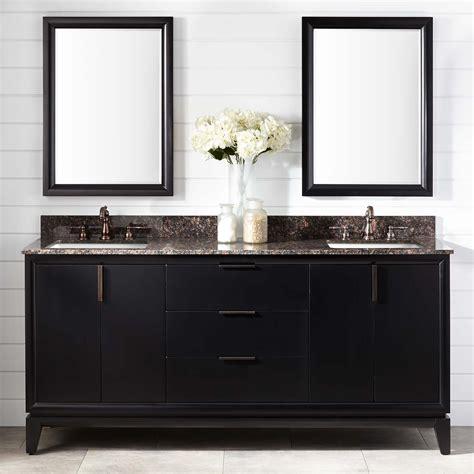 talyn mahogany double vanity  rectangular