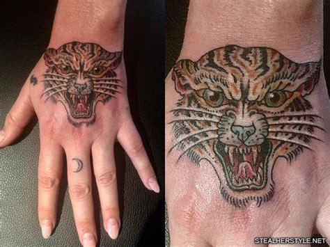 celebrity   hand tattoos steal  style
