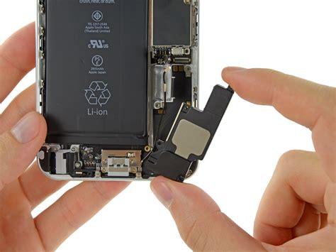 iphone 6 speaker iphone 6 plus speaker replacement ifixit