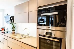 cuisine sans poignee avis idees de decoration With cuisine sans poignee avis