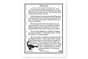 6th Grade Reading Fluency Passages Printable
