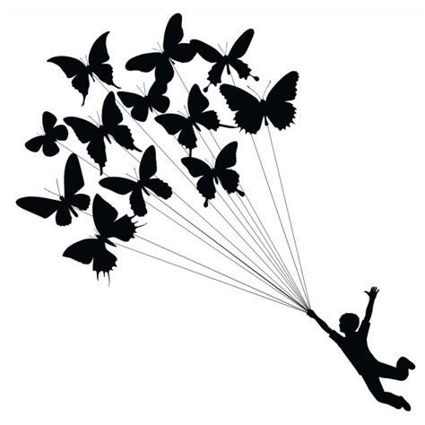 chambre papillon stickers mural deco enfant pas cher muraux papillon