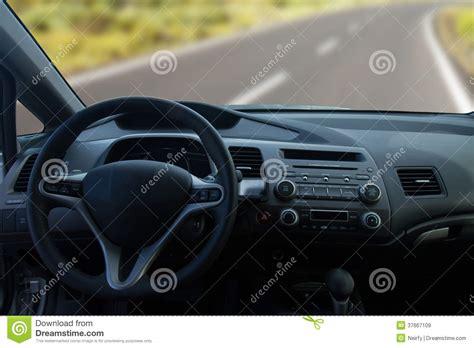 vue de l int 233 rieur d une voiture moderne image stock
