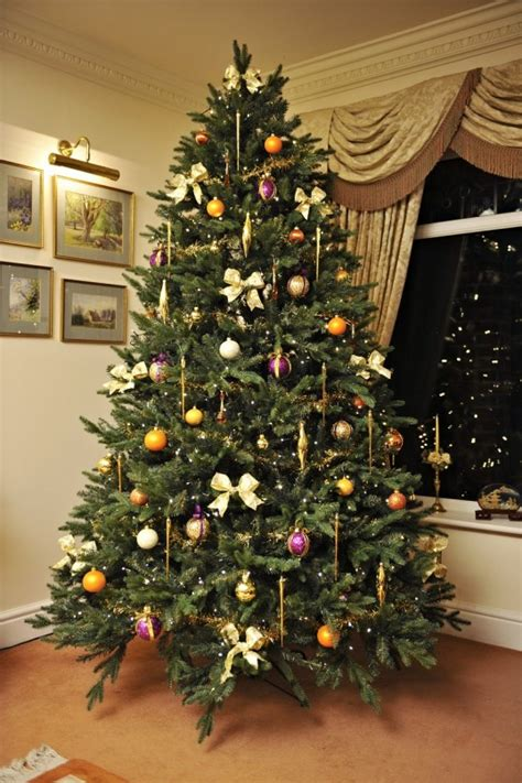 picture of real christmas trees decorated artificial vs real trees what is the best value ctw