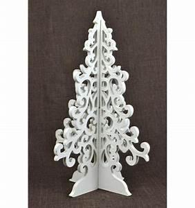 Arbre De Noel En Bois : arbre sapin de no l en bois style baroque d co de no l ~ Farleysfitness.com Idées de Décoration