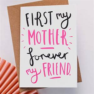 'first my' mother's day card by old english company ...
