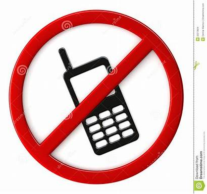 Cell Phone Allowed Phones Clipart Clip Use
