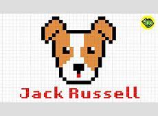 Pixel Art Puppy Easy Draw 7
