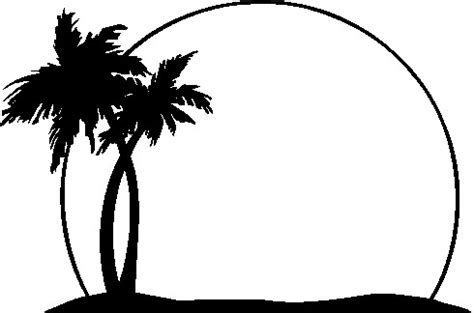 palm tree clipart black and white no background palm tree clipart clipart panda free clipart images