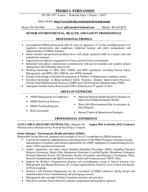 professional resume pif december 2012