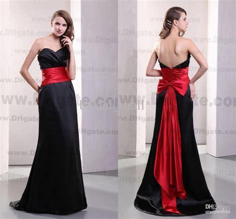 crimson bridesmaid dresses and black bridesmaid dresses unique and combination ipunya