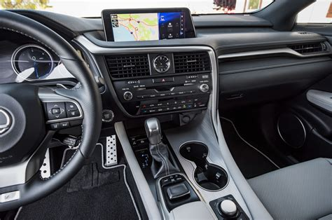 lexus interior 2016 lexus rx 350 f sport first test review best seat in