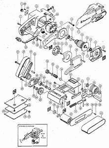 Makita Belt Sander Parts List