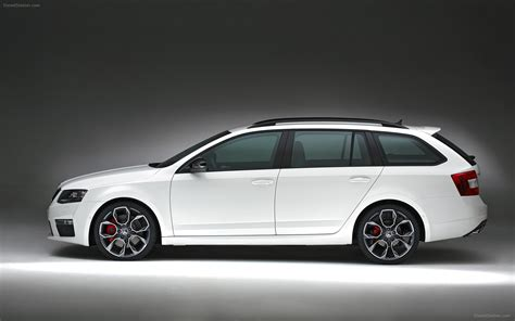 Skoda Octavia Rs 2014 Widescreen Exotic Car Picture #01 Of
