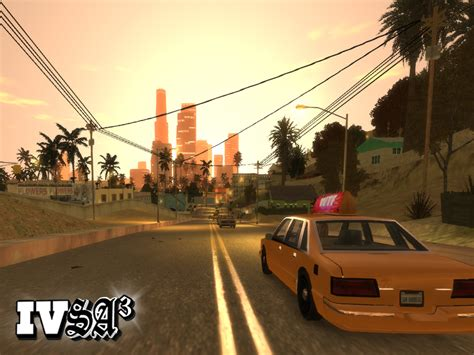 San Andreas Mod For Grand Theft Auto Iv