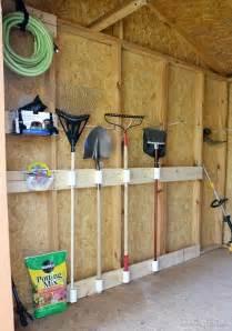 DIY Storage Shed Organization Ideas