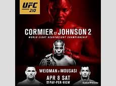 UFC 210 Cormier vs Johnson 2 Pacers Showgirls