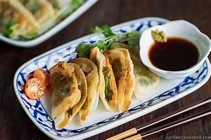 Chicken Shiso Gyoza With Yuzu Kosho  U0026 Ponzu Sauce  U3057 U305d U5165 U308a U9d8f U9903 U5b50