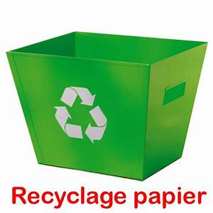 Corbeille Papier Recycle